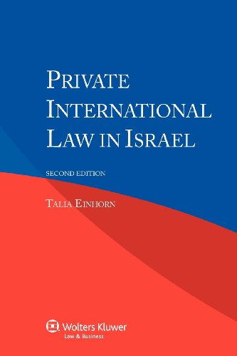 Private International Law in Israel