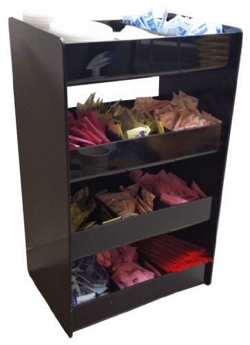 Wide Condiment Rack With 4 Shelves (3007)