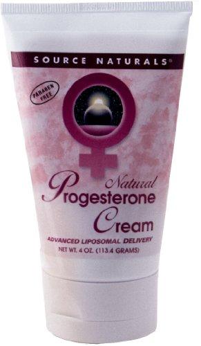 Crème progestérone par Source Naturals (4 oz tube)