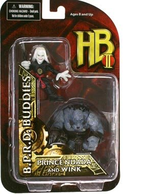 Picture of Mezco Hellboy BPRD Buddies Mr. Wink & Prince Nuada Figure 2-Pack (B002E649MI) (Mezco Action Figures)
