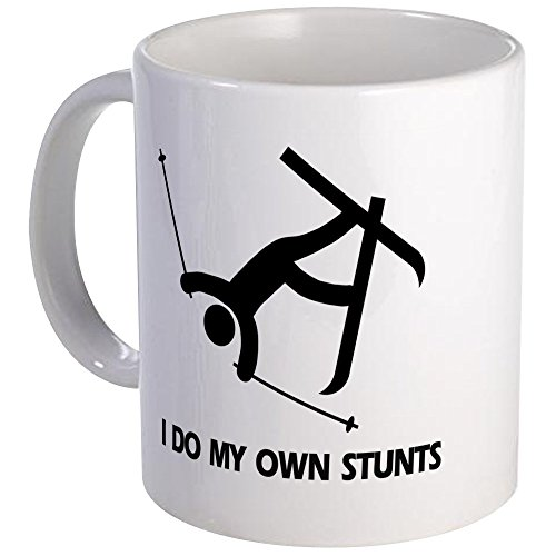 CafePress - Snow Ski, Skiing Stunts - Unique Coffee Mug, 11oz Coffee Cup (Skiing Coffee Cup compare prices)