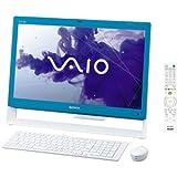 ソニー(VAIO) VAIO Jシリーズ J248 W7H 64/Ci5/21.5 Full HD/4G/BD/2T/W-LAN/Office/TV/ブルー VPCJ248FJ/L