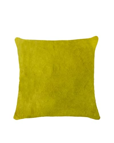 Natural Brand Torino Cowhide Pillow, Yellow