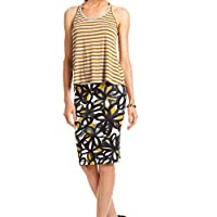 Trina Turk Tarin Top in Golden