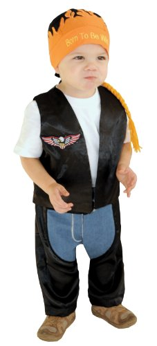 Infant Boys Halloween Costume - Biker Dude Costume