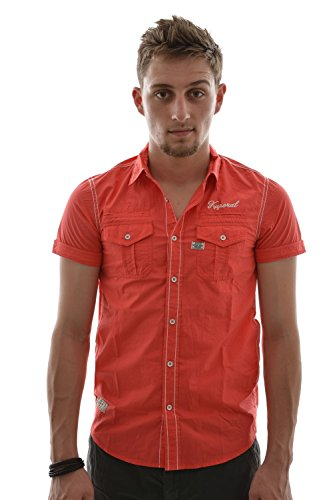 Camicia a maniche corte Kaporal 5Kaput Rosso rosso S