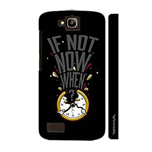Huawei Honor Holly If not now when... designer mobile hard shell case by Enthopia