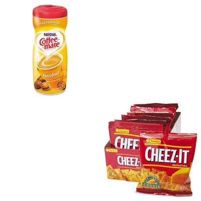 Kitkeb12233Nes12345 - Value Kit - Coffee-Mate Hazelnut Creamer Powder (Nes12345) And Kellogg'S Cheez-It Crackers (Keb12233)