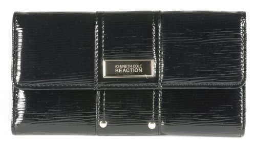 Kenneth Cole Reaction Women'S Clutch Style 162520/887 Msrp $50 (Black)