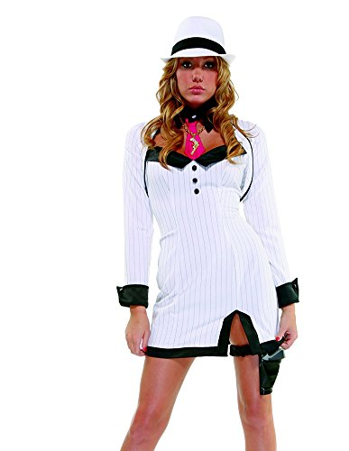 Forplay Women's Gangster Glam Adult Sized Costumes