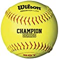 Wilson A9331ASA Series Softball (12-Pack), 11-Inch, Optic Yellow