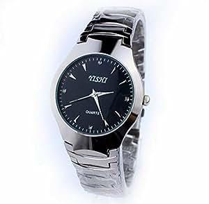 Delite Delite Yishi Women's Men's Fashion Leisure Stainless Steel Quartz Watch