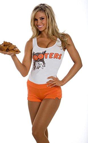 large-hooters-roller-skating-bar-girl-printed-vest-shorts-fancy-dress-set