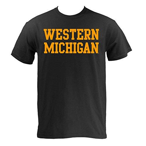 western-michigan-broncos-basic-t-shirt-large-i-3-4-black