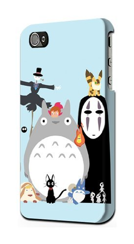 S1126 Totoro Mononoke Case Cover For IPHONE 5 5S