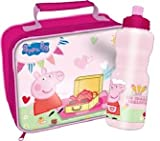 Peppa Pig Tea Party Insulated Lunch Bag + Bottle