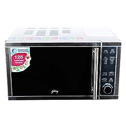 Godrej GMX20CA3MKZ 20-Litre Convection Microwave Oven (Metallic Silver)