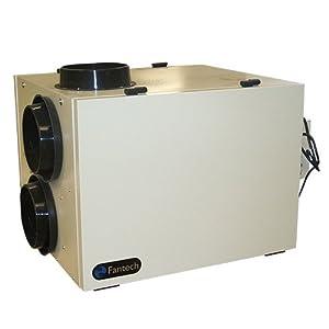 fantech shr 3205rd hrv 65 267cfm 0 4 wg 3 speed bathroom fans