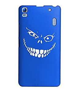 KolorEdge Back Cover For Lenovo A7000 - Royal Blue (1394-Ke15184LenovoA7000RBlue3D)