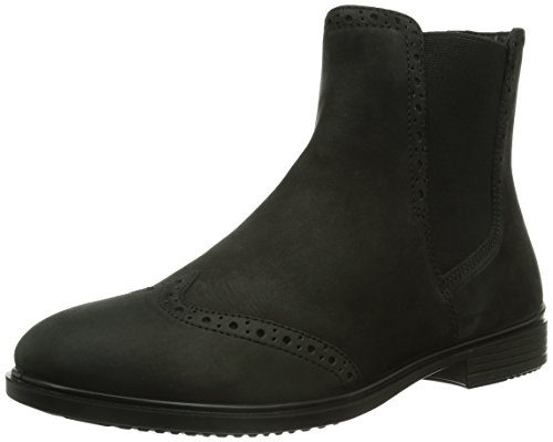 ECCO TOUCH 15 B, Damen Chelsea Boots, Schwarz (BLACK), 36 EU (3.5 Damen UK)