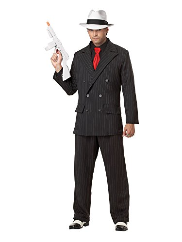 Mob Boss Costume - X-Large - Chest Size 44-46 (Mob Boss Tie)