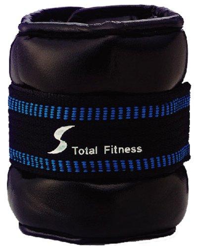 トータルフィットネス(TotalFitness) ソフトアンクルリストウェイト 2kg 2個組 STW082