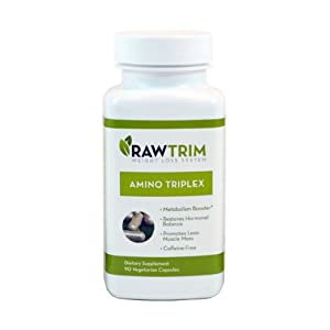 Raw Green Organics Rawtrim Metabolism Trio, 0.75 Pound