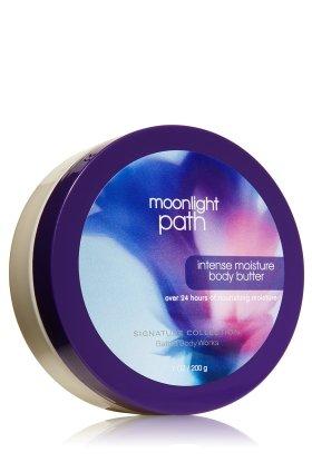 バス&ボディワークス ムーンライトパス インテンス モイスチャーバター 200g Moonlight Path Intense Moisture Body Butter