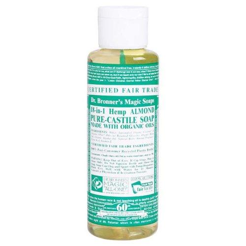 Castile Liquid Soap-Almond Hemp Dr. Bronner'S 4 Oz Liquid