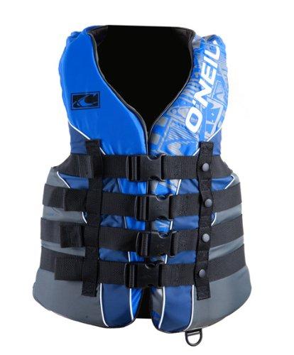 O'Neill Wake Waterski Men's Superlite USCG Vest (Pac/Nvy/Col, X-Large)