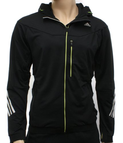 Adidas Mens CP Trans Full Zip Hooded Training Jacket Size XL