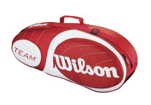 Wilson Team 3-Pack Bag, Red