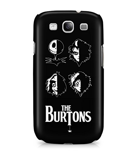 Nightmare Before Christmas Burtons Hard Plastic Snap On Back Case Cover For Samsung Galaxy S3 Custodia