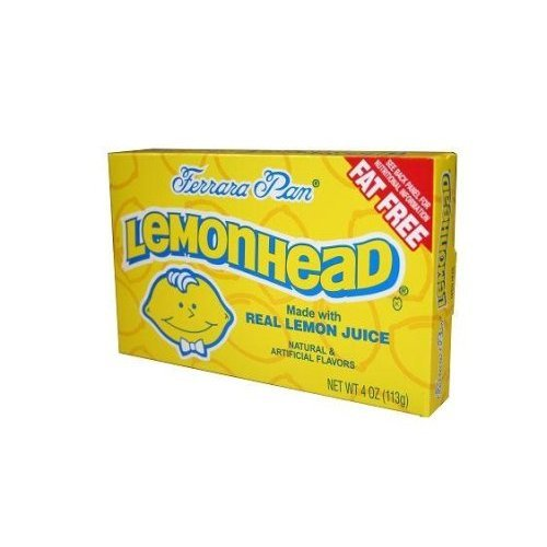 Ferrara Pan LemonHead Candies - 7 oz box (Gourmet,Ferrara Pan,Gourmet Food,Candy)