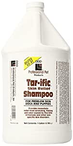 PPP Tar-ific Skin Relief Dog Shampoo, 1-Gallon