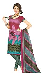 SSKP Women's Cotton Dress Material (FE_76_Multi-Coloured_Free Size)