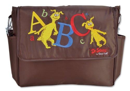 Trend Lab Dr Seuss Messenger Style Diaper Bag, ABC
