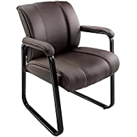 Brenton Studio Bellanca Guest Chair (Brown/Black)