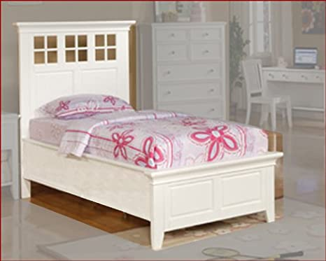 Winners Only Panel Bed Del Mar in White WO-BDP1001