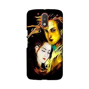 Yashas Moto G4 PLAY Designer Printed Case & Covers Premium Quality (Moto G4 PLAY Back Cover) - Lord Shiva
