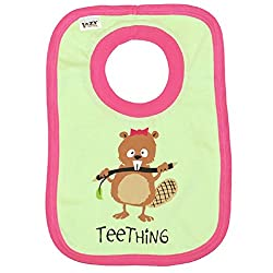 Teething Baby Girls' Comical Beaver Baby Bib