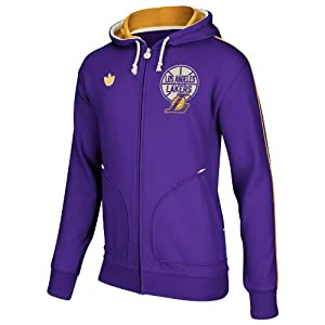 NBA Los Angeles Lakers Springfield Full Zip Hoodie by adidas