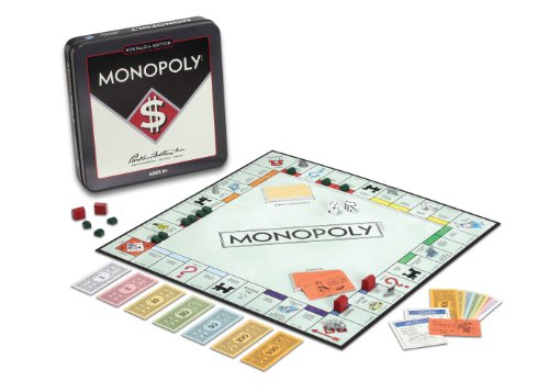Monopoly Nostalgia Tin by Winning Solutions (Monopoly Vintage compare prices)