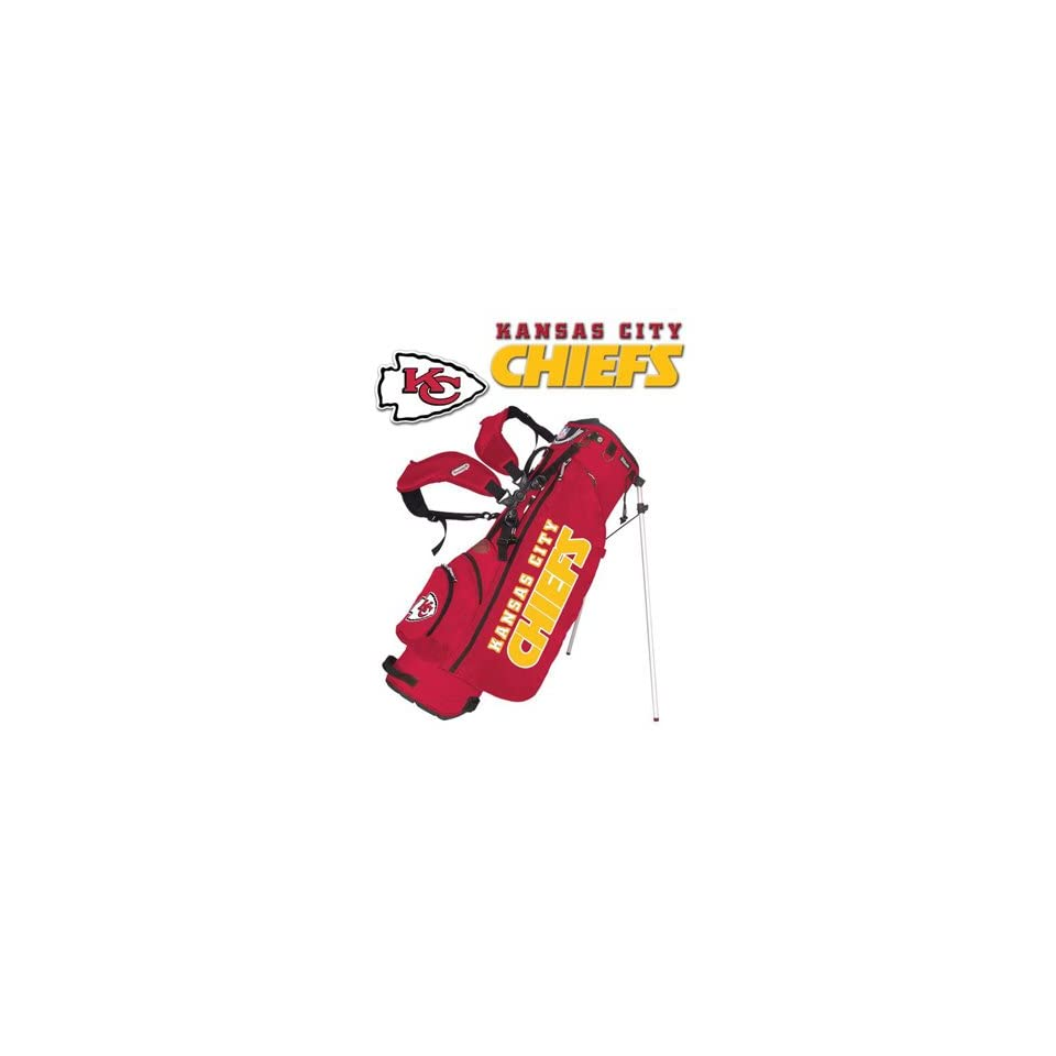 Kansas City Chiefs Go Lite NFL Golf Stand Bag by Datrek