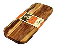 Madeira Mario Batali M-01 Edge Grain Teak Bread Board