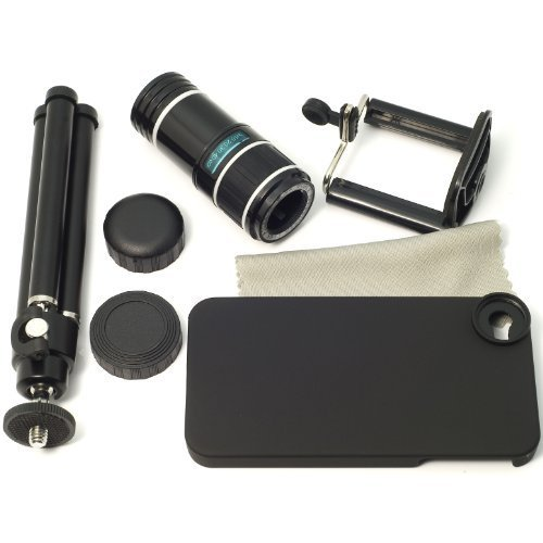 Bw® 12X Optical Zoom Telescope Camera Lens With Tripod For Phone Iphone 4S 4 Dc166
