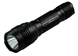 Streamlight 88040 ProTAC HL High Lumen Professional Tactical Light with white LED and Holster, Black