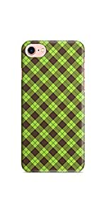 Casenation Tangy Checks iPhone 7 Soft Case