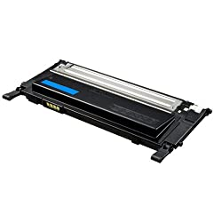 Compatible Toner Cartridge Replacement for Samsung CLT-C406S Cyan toner cartridges replacement for Samsung Xpress SL-C410W, SL-C460FW CLX-3305FW,CLX-3305FN,CLX-3305W, CLP-365W,color laser printers