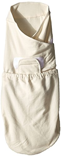 Ergobaby Swaddler 2 pack - 100% Cotton Baby Swaddle Blanket - Green/Natural - Medium/Large - 1